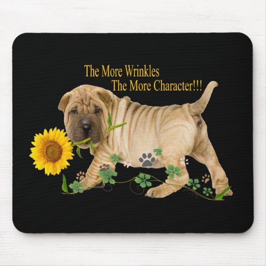Chinese Shar-Pei Wrinkles Gifts Mouse Pad