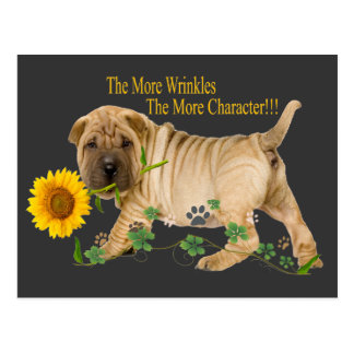 Chinese Shar-Pei Wrinkles Gifts Postcard