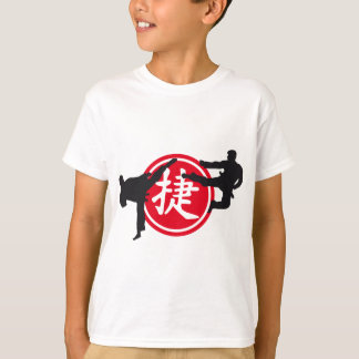 Chinese sign and carats more fighter T-Shirt