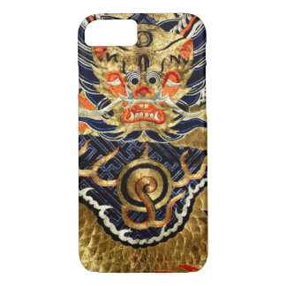 Chinese Silk Dragon Embroidery iPhone 7 Case