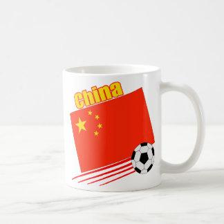 Chinese Soccer Team Basic White Mug