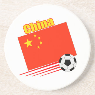 Chinese Soccer Team Beverage Coaster