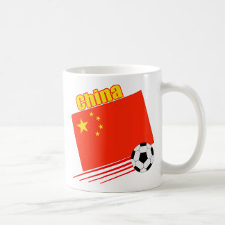 Chinese Soccer Team Classic White Coffee Mug