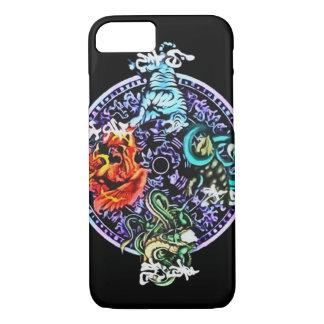 Chinese Spirit Elementals iPhone 7 Case