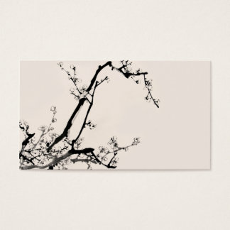 chinese style business card