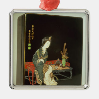 Chinese-style writing box christmas ornament