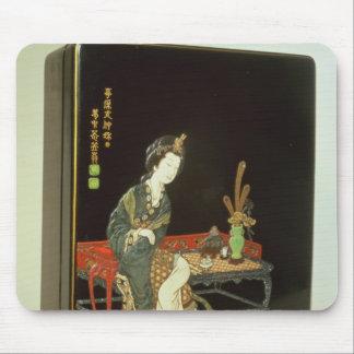 Chinese-style writing box mouse pad