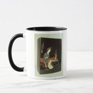 Chinese-style writing box mug