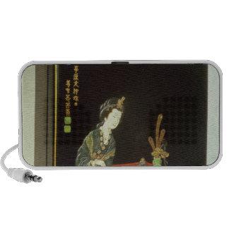 Chinese-style writing box PC speakers