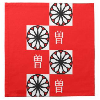 Chinese Surname Napkins - Zeng