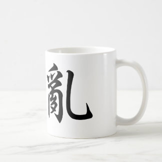 Chinese Symbol for chaos Basic White Mug