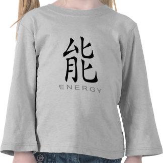 Chinese Symbol for Energy Tshirt