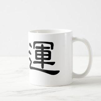 Chinese Symbol for fate, destiny Basic White Mug