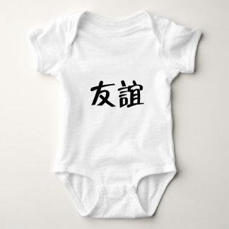 Chinese Symbol for friendship Baby Bodysuit
