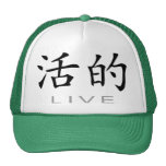 Chinese Symbol for Live Mesh Hats