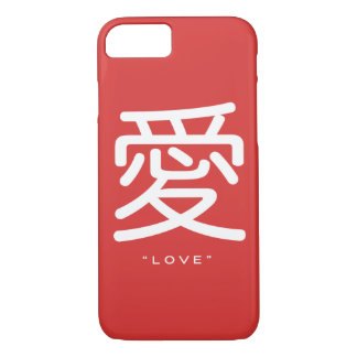Chinese Symbol for Love Word Art iPhone 7 case