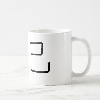 Chinese Symbol for soul mate Basic White Mug