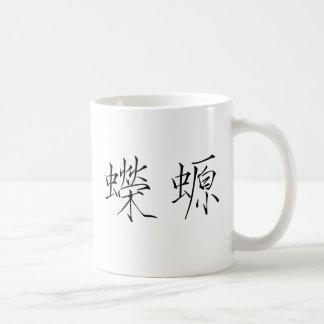 Chinese Symbol for triton Basic White Mug