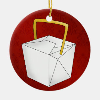 Chinese Take Out - SRF Christmas Ornament