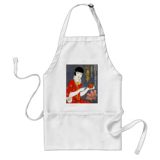 CHINESE TEA AD apron