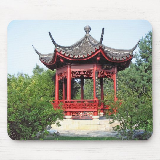 Chinese Teahouse Mouse Mat