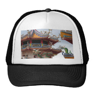 Chinese temple cap