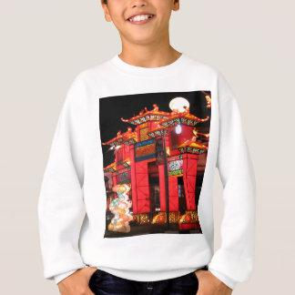 Chinese temple sweatshirt