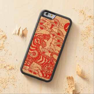 """Chinese Tiger Phone Case"" Cherry iPhone 6 Bumper Case"