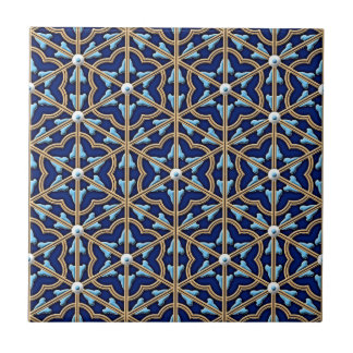 Chinese tiled floral pattern tile