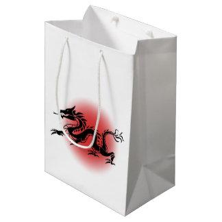 Chinese traditional dragon medium gift bag