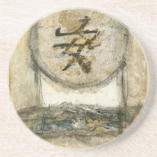 Chinese Tranquility Painting by Mauro Coaster