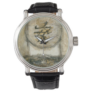 Chinese Tranquility Painting by Mauro Wrist Watch