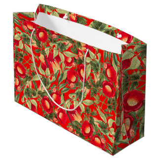 Chinese Trumpet Vine Flowers Wildflowers Gift Bag