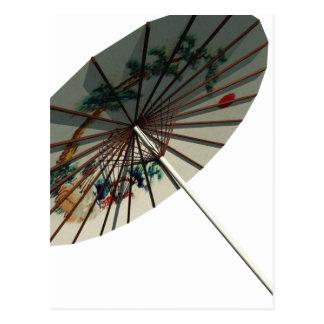 Chinese Umbrella-3 Postcard