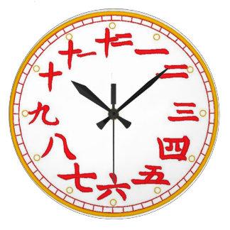 Chinese Wall Clock