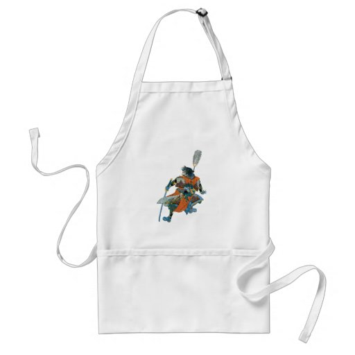 Chinese warrior Chinese warrior Aprons