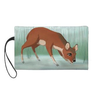 Chinese water deer wristlet