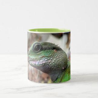 Chinese water dragon Two-Tone coffee mug