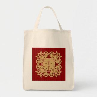 Chinese wedding double happiness bag