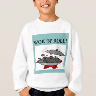 chinese wok cooking sweatshirt