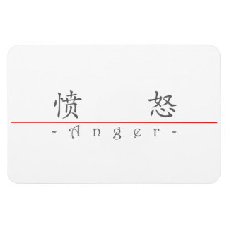 Chinese word for Anger 10037_1.pdf Flexible Magnet