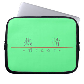 Chinese word for Ardor 10170_1 pdf Computer Sleeve