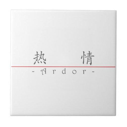 Chinese word for Ardor 10170_1.pdf Ceramic Tile
