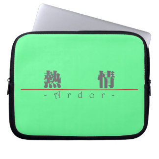 Chinese word for Ardor 10170_3 pdf Laptop Computer Sleeve
