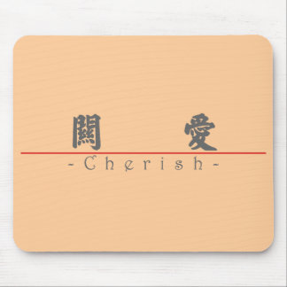 Chinese word for Cherish 10179_4 pdf Mouse Pads