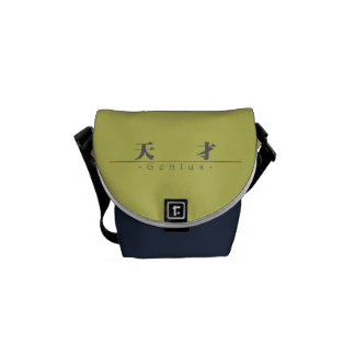 Chinese word for Genius 10367_3.pdf Messenger Bags