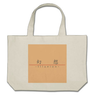 Chinese word for Illusion 10021_1.pdf Tote Bag