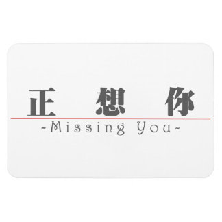 Chinese word for Missing You 10295_3.pdf Flexible Magnet