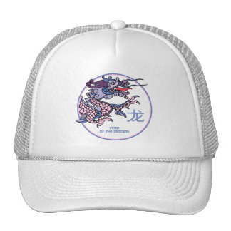 Chinese Year of the Dragon Mesh Hats