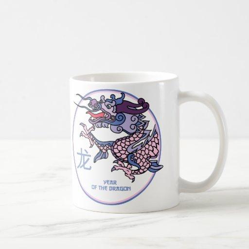 Chinese Year of the Dragon Mugs